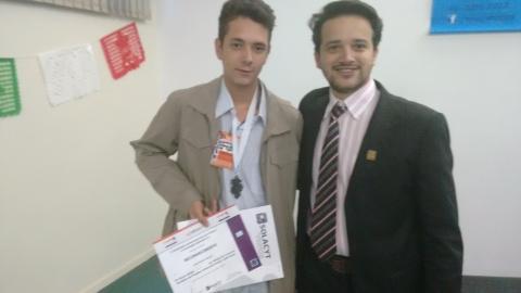 Aluno conquista medalha de prata e credenciamento para feira científica no Méxicoa